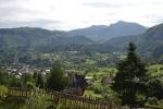 Uitzicht vanaf camping Panorama