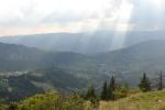Uitzicht over Rucar