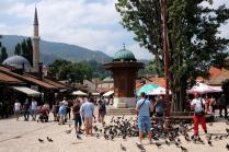 Pigeon Square, Sarajevo