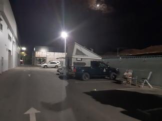 Overnachten bij Toyota