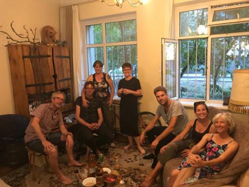 Bij Karin-Marijke en Coen in Bishkek